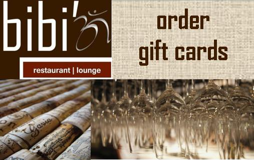 Bibi'z Restaurant | Lounge - Gift Cards